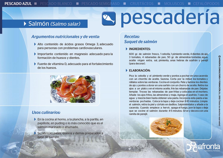 Ficha de producto de Pescadería - cursos pescadería