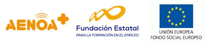 Logotipo AENOA, FEFE y FSE - Afronta Servicios de Consultoría