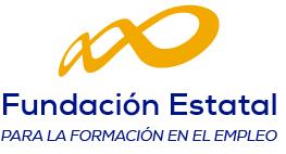 Logotipo de la Fundación Estatal para la Formación en el Empleo (FUNDAE)